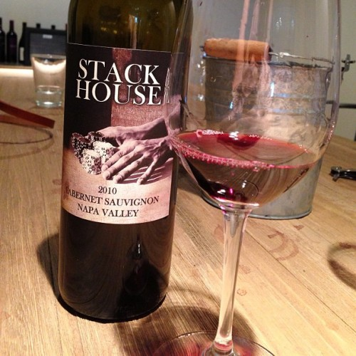 Stack House | 2010 Cabernet Sauvignon Although you haven't heard of Stack House, you may have heard of its winemaker - Anna Monticelli. If you haven't heard of Anna, hopefully you've had her wines in the form of Piña or ESCA.  Alright, so you may not have heard of Anna or Stack House, but I'm sure you've heard of Philippe Melka as well as Bryant Family. Anna studied under Melka, and was one of his assistant wine makers while at Bryant Family. Regardless of pedigree and experience Anna Monticelli's a name you'll want to familiarize yourself with, and Stack House is something you'll want to keep on hand to not just please the crowds that walk through your threshold but the oenophiles that find their way into your living room.  Big earthy notes, bright red fruit, composed tannins, and a velvety mouth feel. It's a cheaper bottle ($18-22), with a big return. Scot at STASH wines mentioned that if one wanted they could lay this bottle for 2-3 years, we thought it was drinking well right now. Regardless, one can't lose when the odds are stacked in their favor.  Purchase at STASH wines