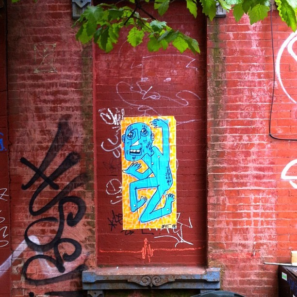 Rae in Williamsburg #streetart #brooklyn #nyc #ny #graffiti #ekglabs #thanksnyc #rae