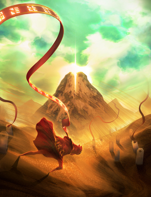 geeksngamers:  Journey: Through the Sandstorm - by Yuqoi  This has got to be one of the most beautiful games I've ever played