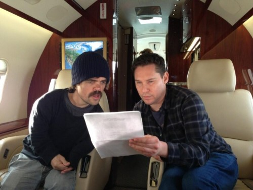 theouthouseblog:   News of the World: Peter Dinklage Will Rock You in X-Men Set Pic It's a Kind of Magic as Dinklage looks to be ready for a Night at the Opera in this photo from the set of X-Men: Days of Future Past. Read More