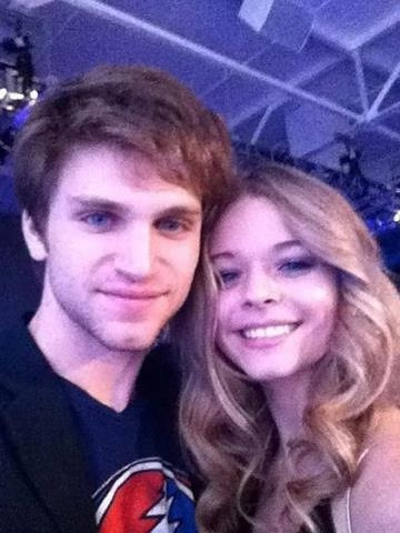 Keegan and Sasha. I love this pic!