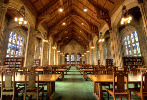 librariesandbooks:  Bapst Library, Boston College, Boston, MA  future school maybe?? '__'