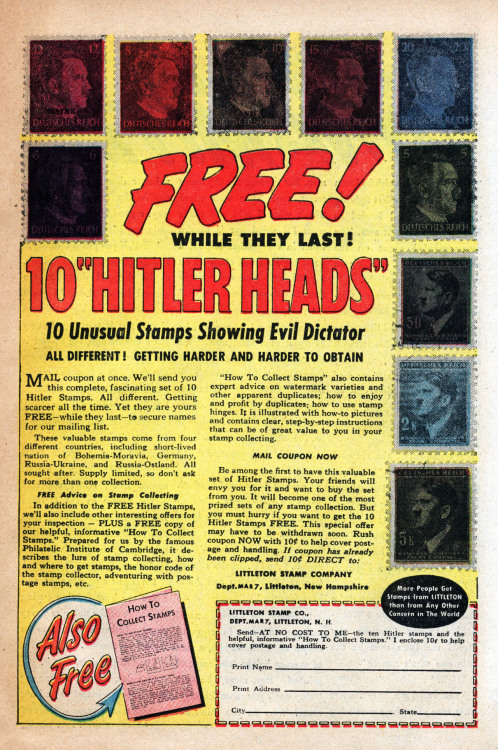 seanhowe:  Hey Kids! Hitler Heads!