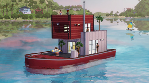 Curved houseboat hulls have been confirmed for The Sims 3 Island Paradise!  Hmmm… what do we have here? i.imgur.com/R6KHbAK.jpg #TS3IslandParadise #houseboats — Graham Nardone (@SimGuruGraham) April 16, 2013