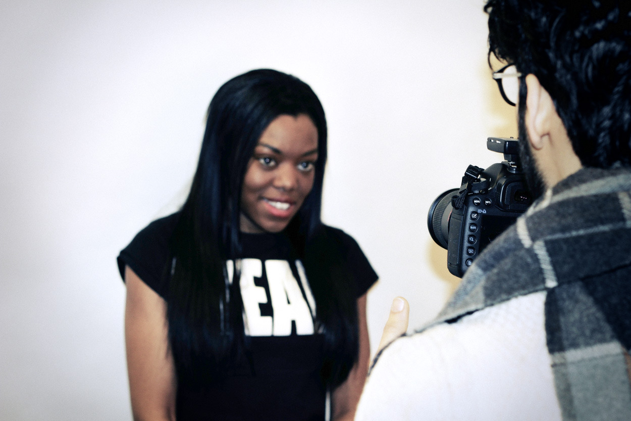 Behind the Scenes with Lady Leshurr and KA DrinksPhotography by Jay Cartere