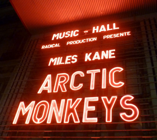 Looks like we'll have this once again: Miles Kane will support Arctic Monkeys on their performances in Italy 10 July - Rock In Roma (Rome) 11 July - Piazza Castello (Ferrara)
