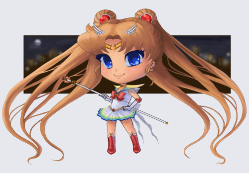 Super Sailor Moon by AutumnEmbers on Deviantart. Link: http://fav.me/d5wkc8n