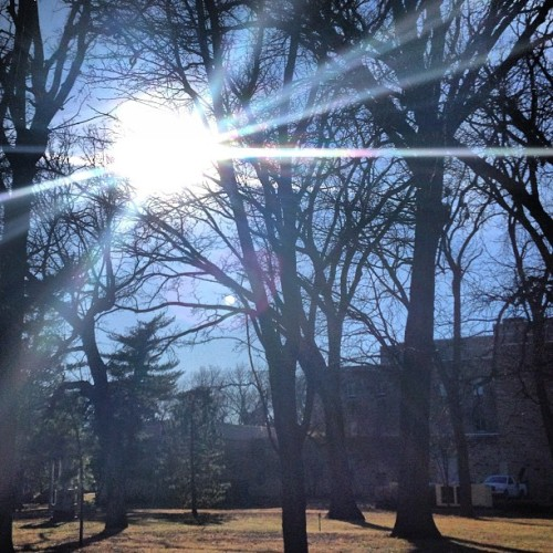 Such a beautiful day on campus! #kstate