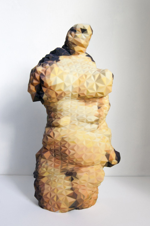 Venus of Google 27.2 x 14.9 x 8.0 cmz-corp powder 3D Print