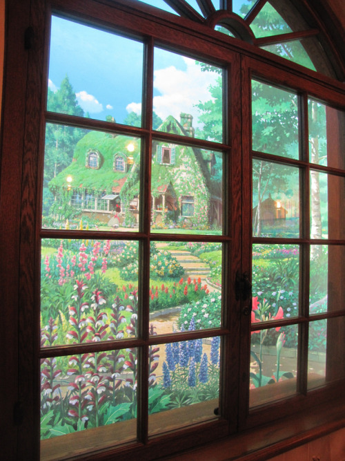 sweetestpea:   studio ghibli museum  Wait..