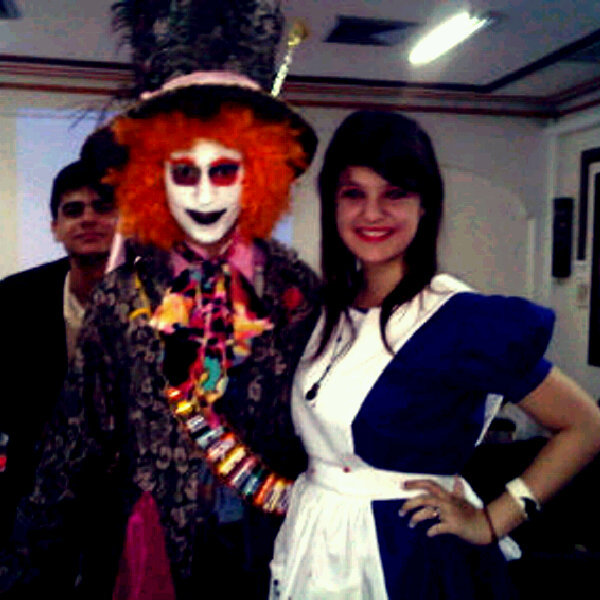 #MadHatter #BadAlice #Me #She #Script #Wow #Super #Crazy  (Photo taken and uploaded via MOLOME )