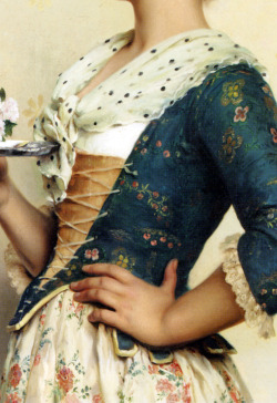 c0ssette:  Tito Conti,The love letter,detail.