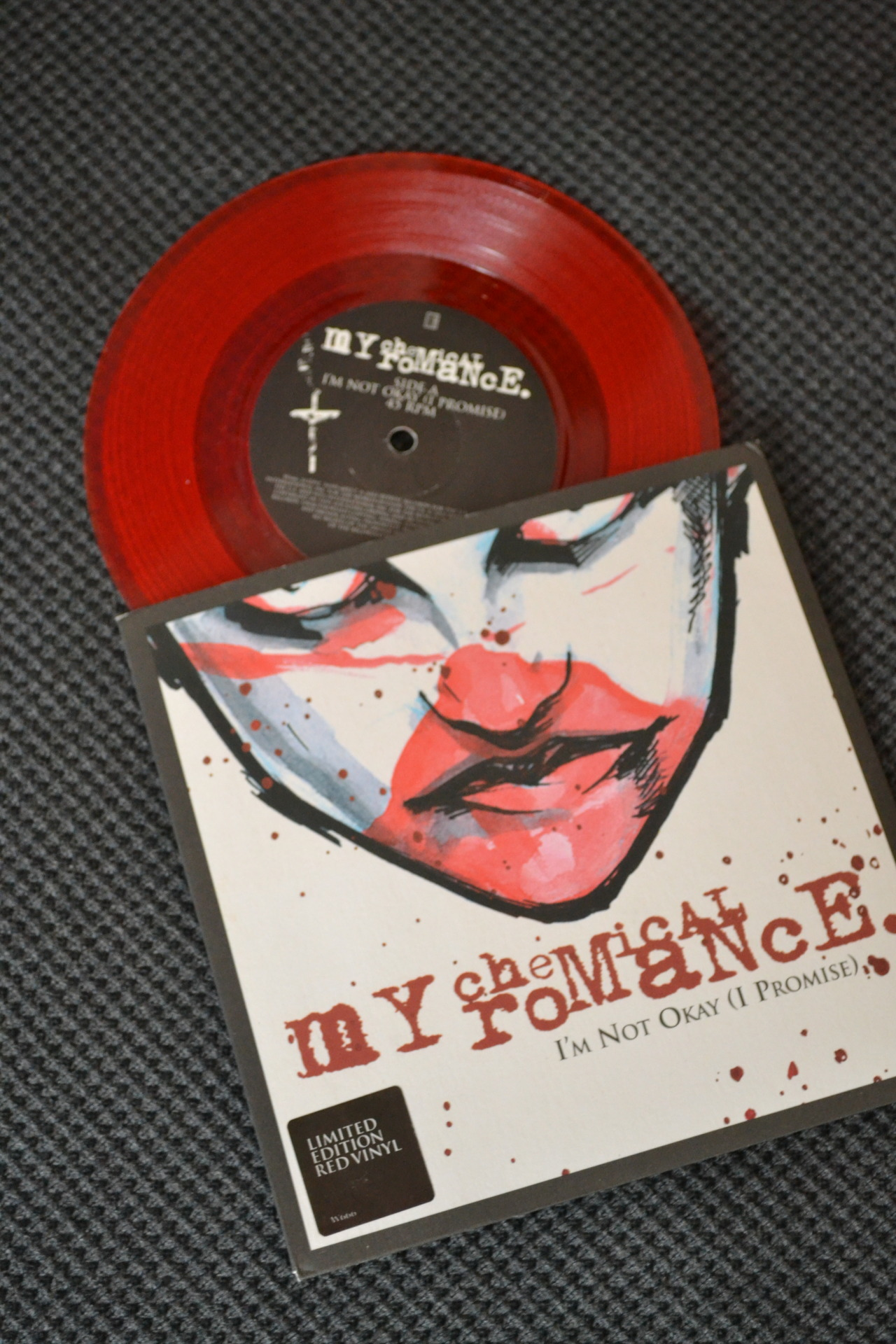 My Chemical Romance - I'm Not Okay (1st Pressing, Translucent Red, /???) | Warner/Reprise