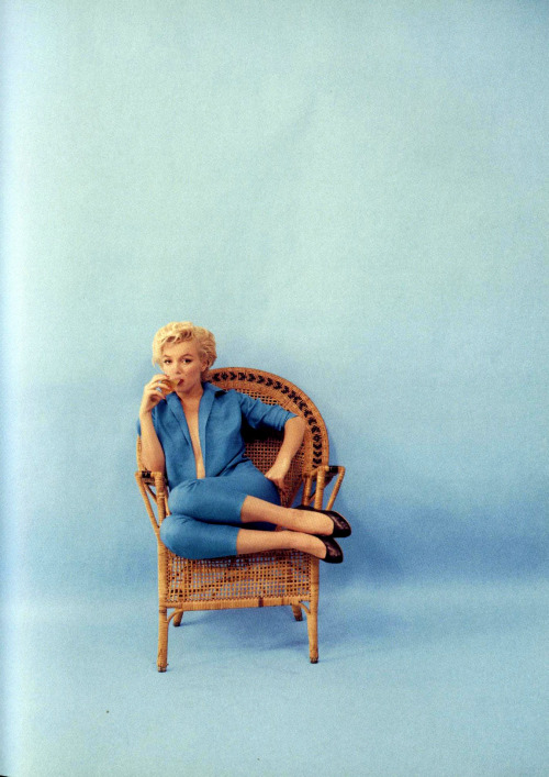 Marilyn Monroe by Milton Greene, September 10th 1954
