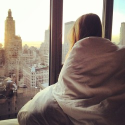 palmist:  One day I'll wake up to a view like this