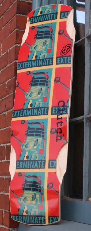 ermergerd soda factory dropped a doctor who themed board in their anniversary sale
