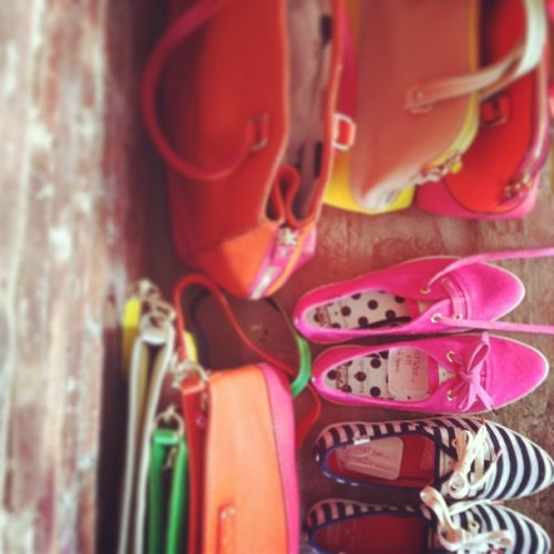 katespadeny:  on the set of our latest style spy. can you guess today's star?
