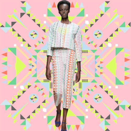 PRINTAPLOSION: SS13 Collection from UK South African label Sindiso Khumalo… View more of the collection here: http://www.afriversal.com/2012/12/london-based-south-african-label-sindiso-khumalo-presents-ss13-collection-printaplosion/