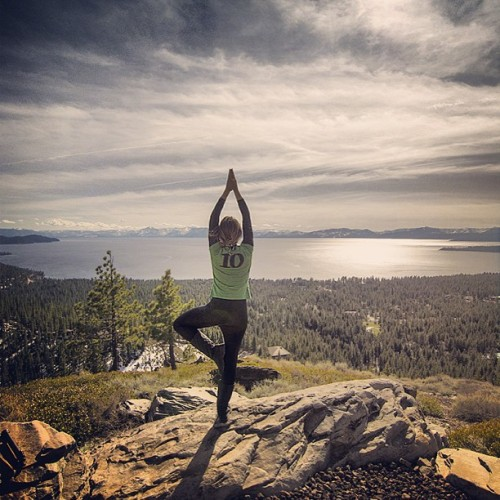 #tahoe #laketahoe #lake #yoga #travel #california #californialove #california_igers
