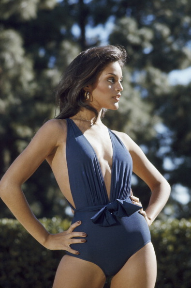 "Jayne Kennedy in April 1977 in a shot from her short-lived NBC TV show, ""Cover Girls."" She played Monique Lawrence who was, of course, a secret agent posing as a fashion model. Photo: Dave Friedman/NBC/NBCU Photo Bank via Getty Images."