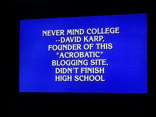 christiansvsindians:  TUMBLR WAS AN ANSWER ON JEOPARDY  What, Jeopardy can't afford an em dash?