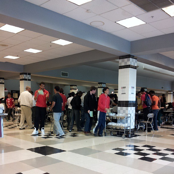 Riot in fourth period lunch cause of early dismissal  tomorrow ctfu
