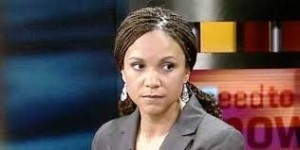 "MSNBC resident idiot, Melissa Harris-Perry, does it again…. This nimrod just doesn't seem to recognize that when you're in the Idiot Hole, it may be a good idea to stop digging. First she tasted her over-priced high heeled shoe by making a comment that children don't belong to their parents but, instead, belong to the 'community'. When that blew up in her face, she attempted to justify it by commenting on how certain groups were taken away from their parents by the ""community' she previously championed and were 're-educated'. Obviously, someone hit her in the face with the Stupid Shovel so she was too dazed and confused to recognize that she was contradicting herself. After shoveling so much runny crap into her pie hole, you'd think even someone with less than the combined intelligence of Lloyd Christmas and Harry Dunne would have the foresight to take a break from making themselves look like a complete boob for a while. But, then again, we are talking about MSNBC. Par for the course, Missy once again opened her ""Ever Full Bag Of Dumb"" and whipped out this sterling gem today:  Americans will always want some level of inequality, because it's a representation of meritocracy.  People who work hard and sacrifice and save their money and make major contributions — we think that they should earn a little more.  They should have more resources, and that's fine.  But we also, however, have to have a floor under which nobody falls.  And if you're below that — especially if you're a child and you're below that — we are not going to accept that.  You do have the the right to health care, and to education, and to decent housing and to quality food at all times.  No, Melly. There is not a floor that no one falls under. Unfortunately for some, they are going to fall.  They are going to fail. And guess what? That will be their fault. America provides everyone with the opportunity to succeed-to make something more of themselves than the position they were born into. However, to rise above that mythical floor you cry about, that takes hard-damn hard work. It takes perseverance and a whole lot of sweat, tears, blood and elbow grease.  It's not just going to be handed to you unless you were fortunate enough to be born into a wealthy family. If people fail, it's because of their own lack of determination and desire. Not everyone can be a college graduate. Not everyone can be a movie or sports star. Not everyone can be a technological genius.  But everyone can be a success in their own way….if they really want it. By patting people on the head and feeding them crumbs so you can feel better about yourself and can brag to your friends about how you ""helped the helpless"" you are doing nothing but making the people you supposedly want to help less-determined and more dependent on handouts…which is a sure-fire way to stuff them under that floor you claim you don't want them falling under. I know this is hard to accept, Miss, but some people are just losers and will always will be. All you do by pretending to support them and feeding them handouts paid by others is prolonging their misery. Also, dingy, people do not have a right to healthcare, education, housing  or food.  If you want those things then, like everyone else, you need to work for them and provide them for yourself. Fortunately, public education (for what it's worth) is provided by tax payer dollars so people can take advantage of that but, again, guess what?  You can send every kid and young adult to the best Ivy League school in the nation but if they don't want to do the work (there's that pesky word again!) they won't succeed.  You know…just like in life. It's one thing if someone who is willing to work and provide for their family falls on hard times.  Then by all means, lend a hand and help them out….for a short amount of time. But when people make the decision to give up, drop out, and just be useless leeches on the belly of society, it's time they learn to either sink or swim. Either way they go, society will be better for it. Anyway, Melissa, I think it's time you took a vacation from Dumbass Land."