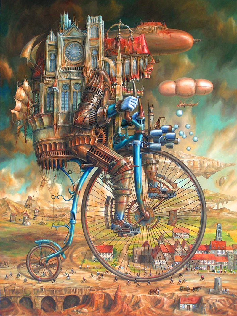 The Weird and Wonderful Art of Jaroslaw Jasnikowski
