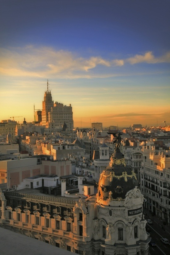 travel-lusting:  Madrid, Spain