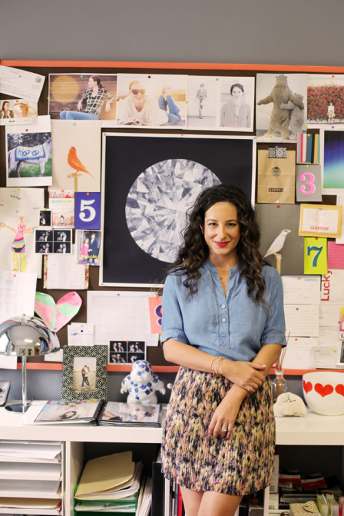 Ariel Gordon's Stylish Los Angeles Home & Office | theglitterguide.com