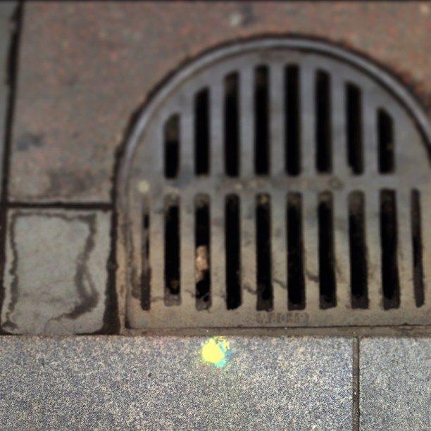 There is a spray paint dot on every corner in San Francisco. Why?