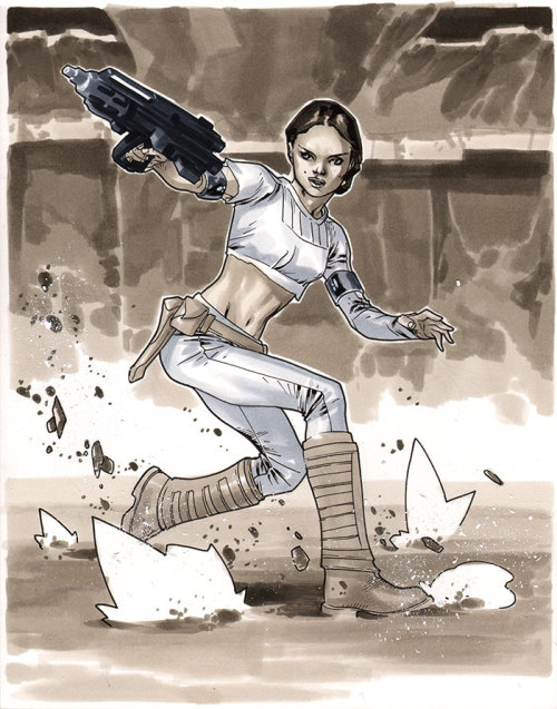Padme Amidala - Comic Action Essen 2012 Pre-Show Commission