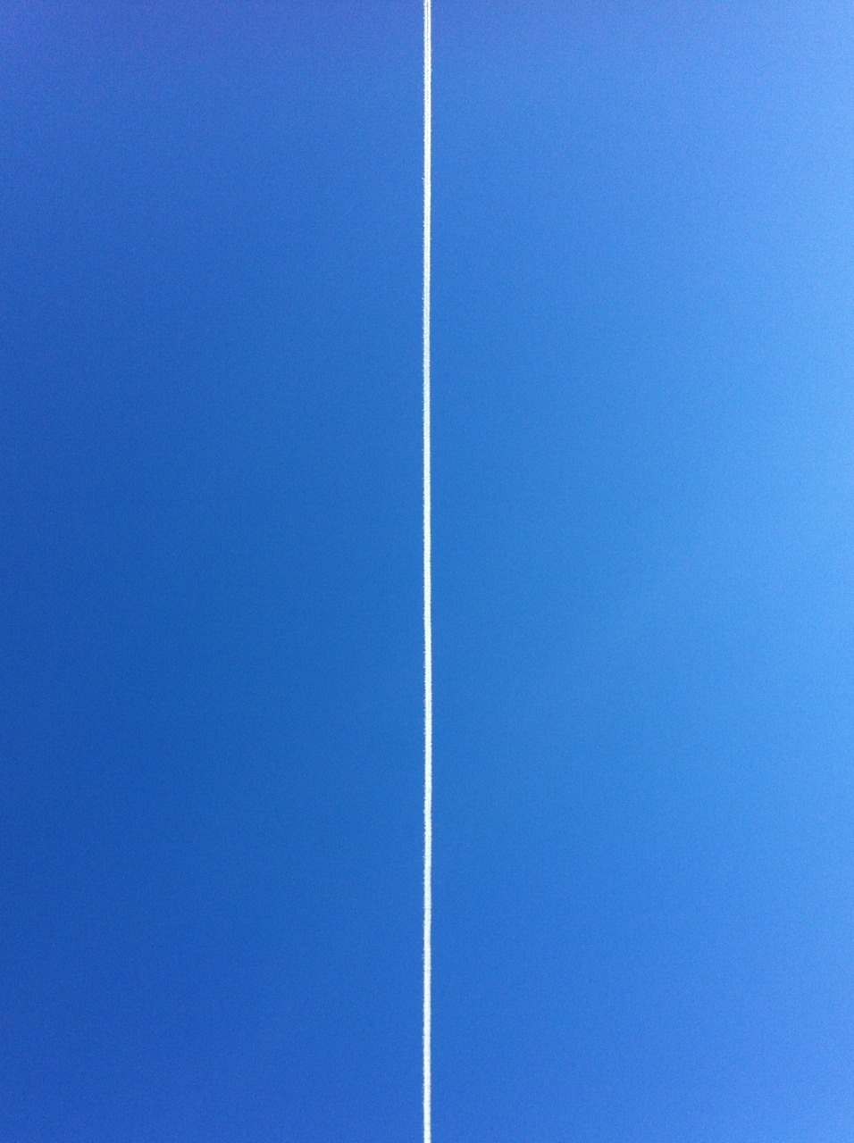 A blue, blue March sky.  Taken with Click! App, cropped  with Snapseed.