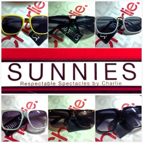 New sunnies from @sunniesbycharlie! Perfect for the insane summer heat! 😎👓👍 #happykid