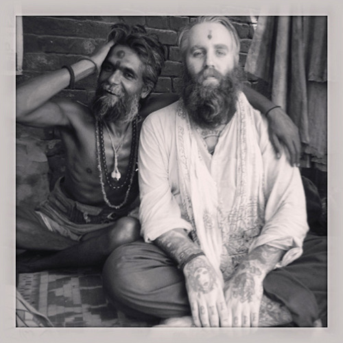 Sadhu Otush Baba & Robert Ryan- Varanasi India-2013