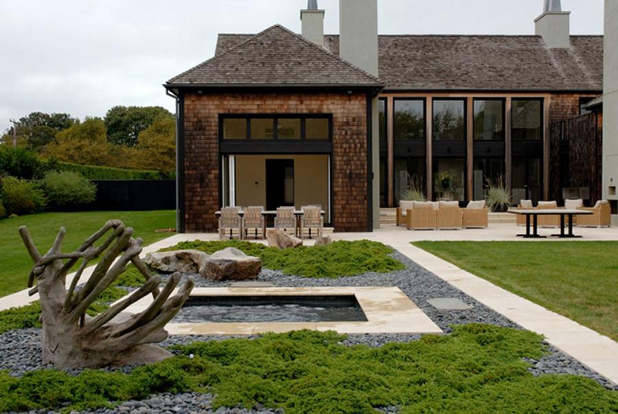 Landscape focused landscape garden design ideas for Hamptons home and garden design penarth
