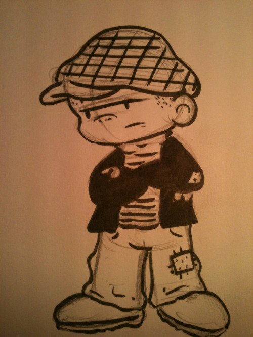 You can't draw Nancy without Sluggo!