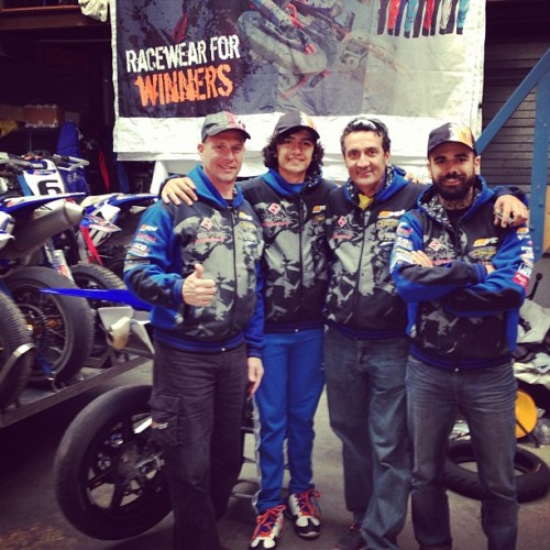 The King and His Men MVD Yamaha Racing Team (at Eindhoven)