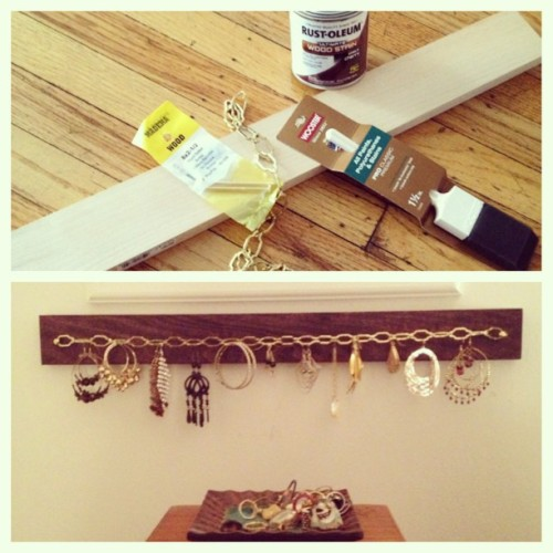 Before and after. No Pinterest. Just Lowe's inspiration. #diy