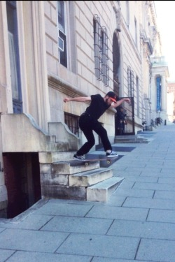 laugh-tracks:  bryan vana, backside tailslide.  Okay I'm back but I've got a six-month bellyache and a bum ankle