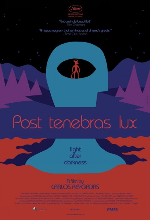 bbook:  See a Stunning New US Trailer & Poster for Carlos Reygadas' 'Post Tenebras Lux'  OH MY. I AM INTO THIS. This poster reminds me of the cover of a sci-fi book I can't quite place.