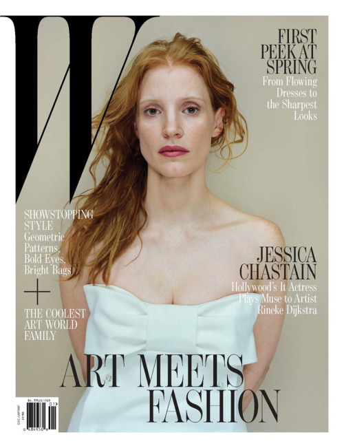 Jessica Chastain (W, December / January 2013)