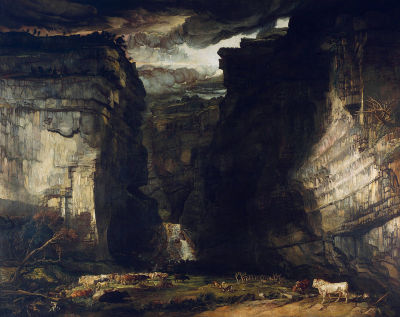 denisforkas:  James Ward - Gordale Scar (A View of Gordale, in the Manor of East Malham in Craven, Yorkshire, the Property of Lord Ribblesdale). 1812