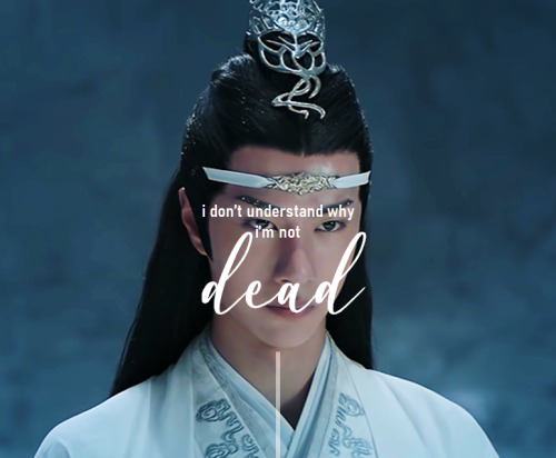 """manhasetardis:  """"I don't understand why i'm not dead. When your heart breaks, you should die."""" - Tony Kushner, Angels in America Keep reading #please the pain  #the quote 😭 #heartbreaking#wangxian#the untamed"""