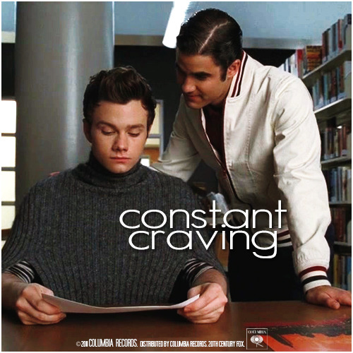 3x07 I Kissed A Girl | Constant Craving Alternative Cover 'Klaine Gaze Collection'
