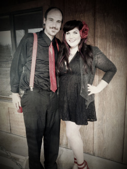 #hubby #truelove #rockabilly #couple