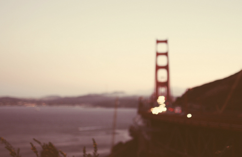 inscendo:  golden gate bridge. by Kristine May.