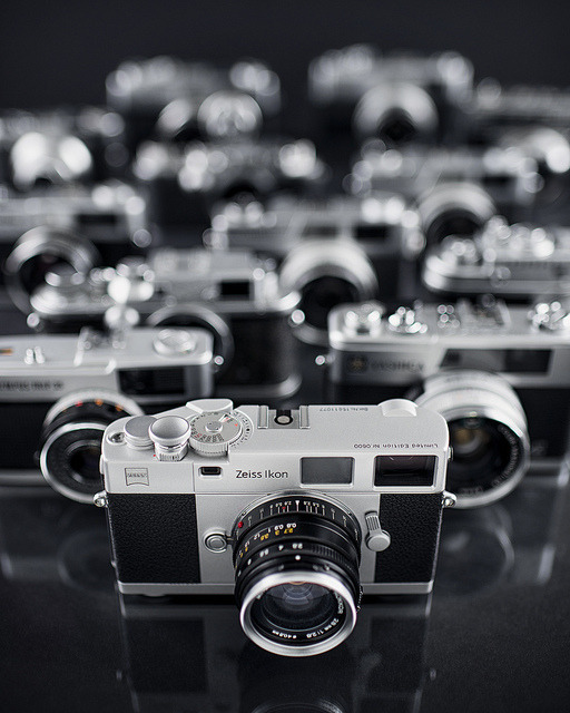 135/365 Silver Age Rangefinders by Yugus on Flickr.