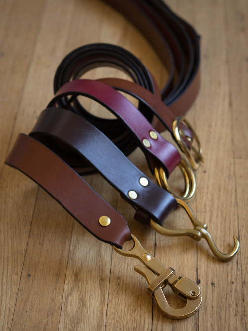 Leather and Brass: Narragansett Leathers.