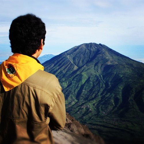 at Gunung Merapi